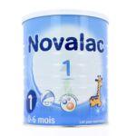NOVALAC LAIT 1 BOITE 800G à Bordeaux