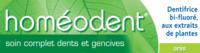 Boiron Homéodent Soin Complet Dents et Gencives Pâte Dentifrice Anis T/75ml à Bordeaux