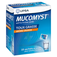 Mucomyst 200 Mg Poudre Pour Solution Buvable En Sachet B/18 à Bordeaux