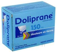 Doliprane 150 Mg Poudre Pour Solution Buvable En Sachet-dose B/12 à Bordeaux