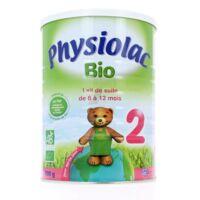 Physiolac Lait Bio 2eme Age à Bordeaux