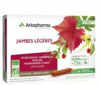 Arkofluide Bio Ultraextract Solution Buvable Jambes Légères 20 Ampoules/10ml à Bordeaux