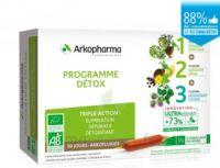Arkofluide Bio Ultraextract Coffret Programme Détox 3x10 Ampoules/10ml à Bordeaux