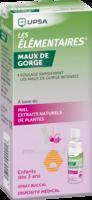Les Elementaires Spray Buccal Maux De Gorge Enfant Fl/20ml à Bordeaux