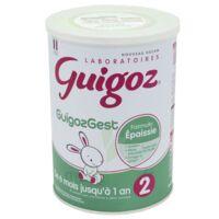 Guigoz Guigozgest 2 Lait Poudre B/800g à Bordeaux
