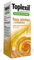 Toplexil 0,33 Mg/ml Sans Sucre Solution Buvable 150ml à Bordeaux