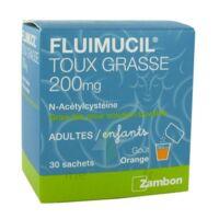 Fluimucil Expectorant Acetylcysteine 200 Mg Sans Sucre, Granulés Pour Solution Buvable En Sachet édulcorés à L'aspartam Et Au Sorbitol à Bordeaux