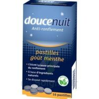 DOUCENUIT ANTIRONFLEMENT PASTILLES à la menthe, bt 16 à Bordeaux