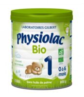 PHYSIOLAC LAIT BIO 1ER AGE à Bordeaux