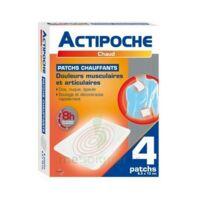 Actipoche Patch chauffant douleurs musculaires B/4 à Bordeaux
