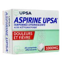 ASPIRINE UPSA TAMPONNEE EFFERVESCENTE 1000 mg, comprimé effervescent à Bordeaux