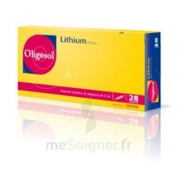 Oligosol Lithium Solution Buvable En Ampoule Ou En Récipient Unidose 28amp/2ml à Bordeaux