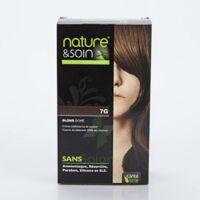 Nature & Soin Kit Coloration 7g Blond Doré à Bordeaux