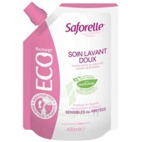 Saforelle Solution Soin Lavant Doux Eco-recharge/400ml à Bordeaux