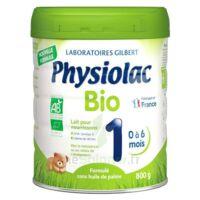 Physiolac Bio 1 Lait En Poudre B/800g à Bordeaux