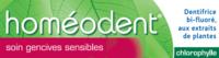 Boiron Homéodent Soin Gencives Sensibles Pâte Dentifrice Chlorophyllet/75ml à Bordeaux